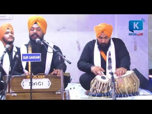 Bhai Manpreet SinghJi BareillyWale at Bhogal on 04 April 2018-Live Gurbani Kirtan