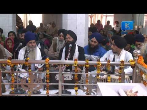 Bhai Jaspreet Singh Ji Bathinda Wale at Gurbani Kirtan at Jamnapar Delhi